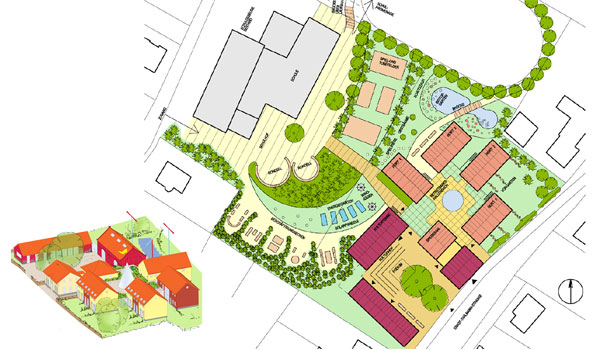 Entwurf Hortgebäude Fredersdorf