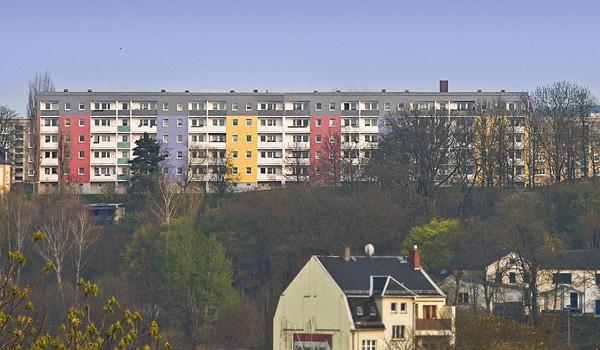 Farbgestaltungen in Plauen